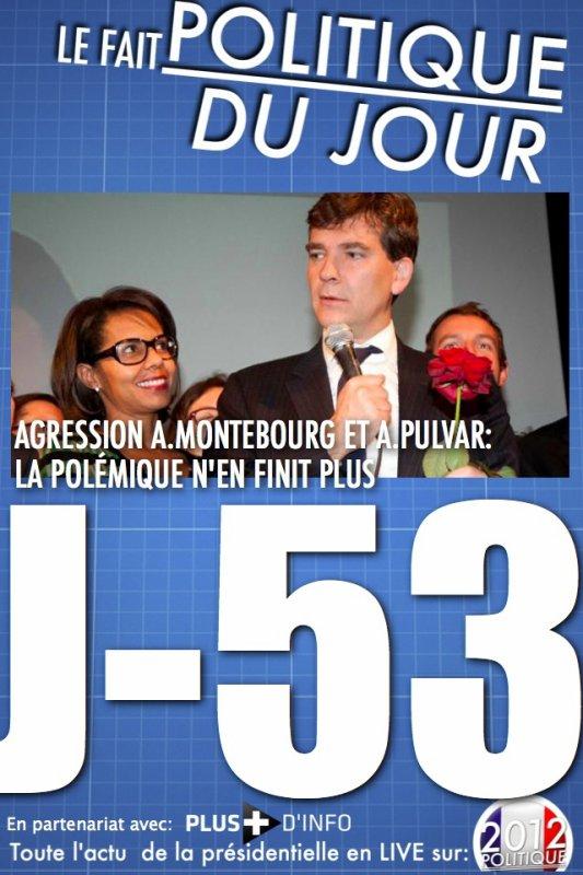 LE FAIT POLITIQUE DU JOUR: Agression Montebourg/Pulvar la polémique n'en finit plus !