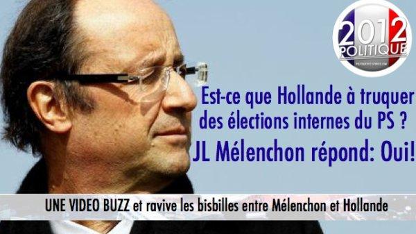 Est-ce que François Hollande à truquer des élections internes du Parti Socialiste?
