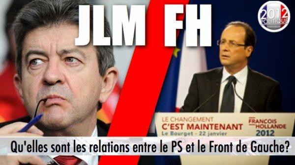 Qu'elles sont les relations entre le Parti socialiste et le Front de Gauche?