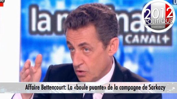 Affaire Bettencourt: Sarkozy qualifie les attaques sur cette affaire de «boule puante»