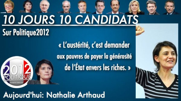 OPÉRATION 10 JOURS / 10 CANDIDATS = NATHALIE ARTHAUD