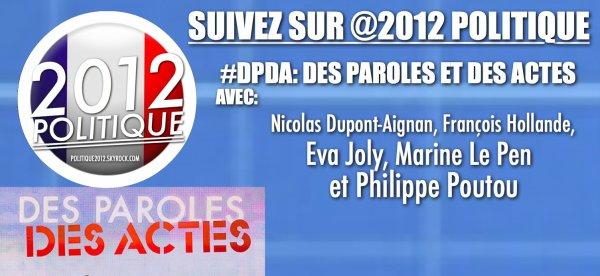 RDV sur @2012POLITIQUE