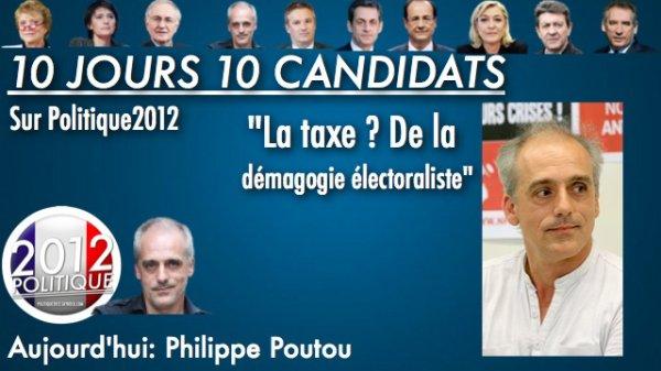 OPERATION 10 JOURS 10 CANDIDATS: Aujourd'hui zoom sur Philippe Poutou