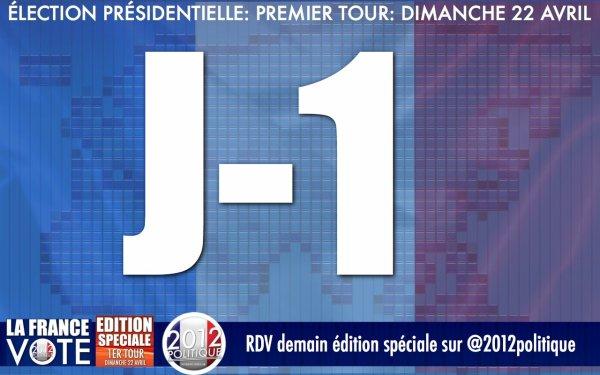 J-1 EDITION SPECIALE DEMAIN TOUTE LA JOURNEE