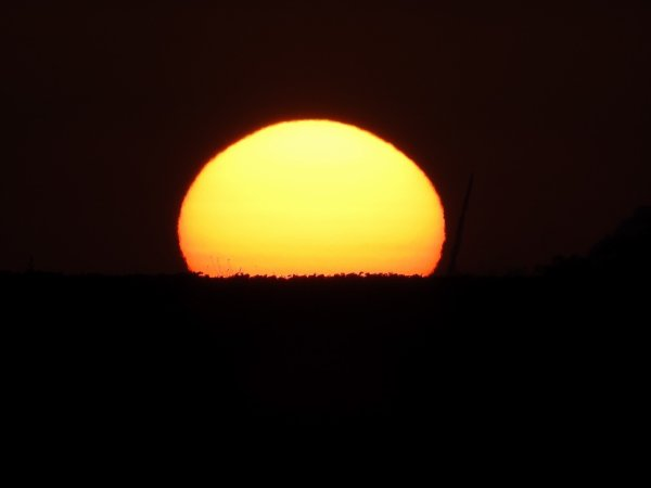 coucher de soleil Loiret 45