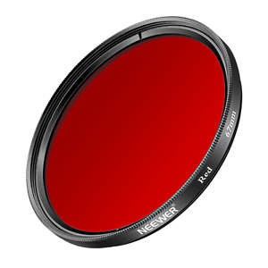 Filtre Coloré Rouge