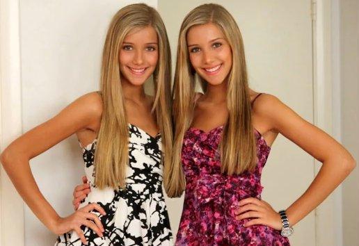 Hermosas hermanas adolescentes en