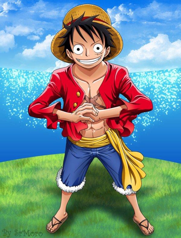 Luffy mon petit frère ❤️❤️❤️