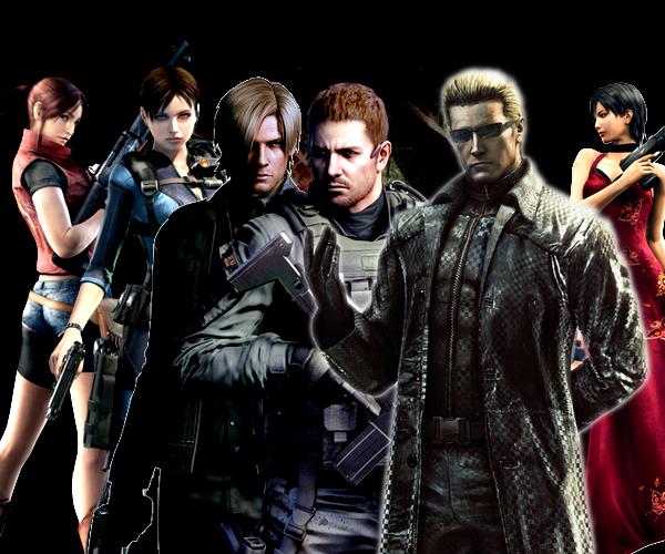 Liste des personnages Resident Evil