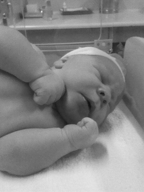 mon fils a sa naissance