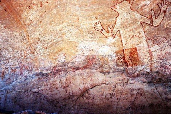 Sud Algérien rupestre peint