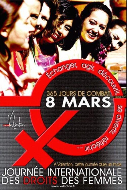 !!!   JOURNÉE  DE  LA  FEMME   !!!