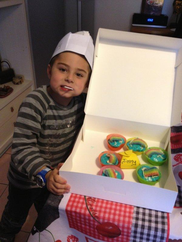 Mon fils a son atelier cooks