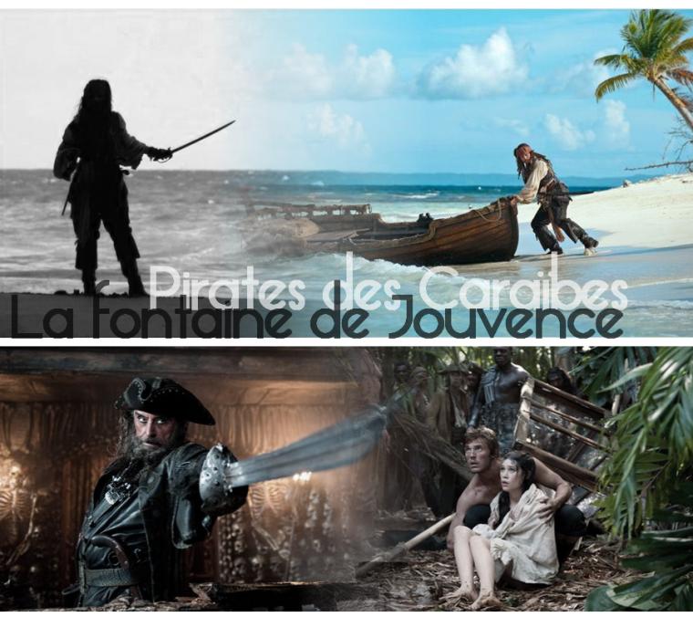 Pirates des Caraïbes ; la fontaine de Jouvence