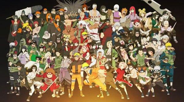 les personnages de naruto shippuden =)