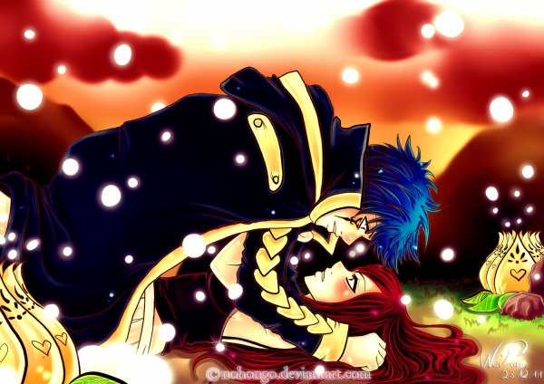 les couple de fairy tail