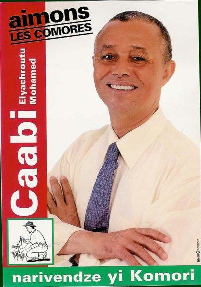 Déclaration de  Caabi Elyachroutu Mohamed Ancien Vice-président de L'Union des Comores actuellement à Mutsamudu Anjouan.