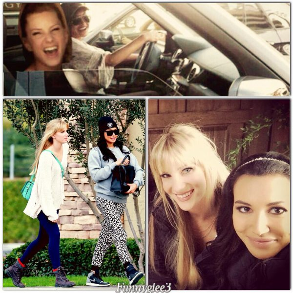 Naya et Heather