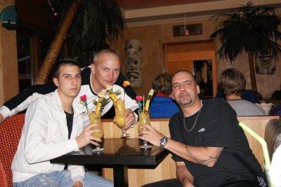 moi mon papa et mon beau frere