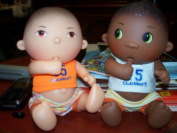 Duo de Beedibies Club Med (Corolle)