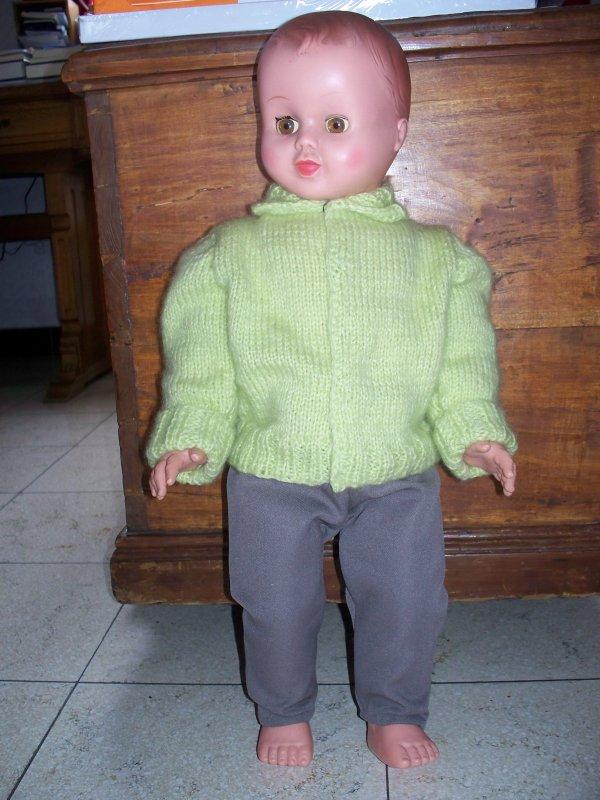 Paul (UNICA) enfin habillé