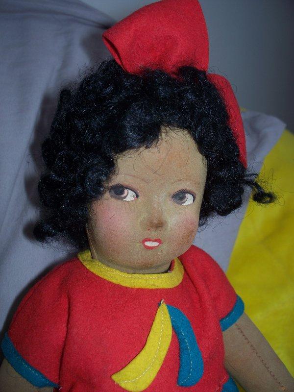 Raynal noire en feutre pressé aka Joséphine