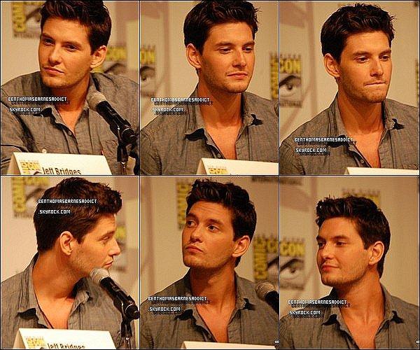 NEW EN VRAC Le 22 juillet 2011 - Ben était a un Comic-Con à San Diego, où il a parlé un peu de son film prochain, le Septième Fils.