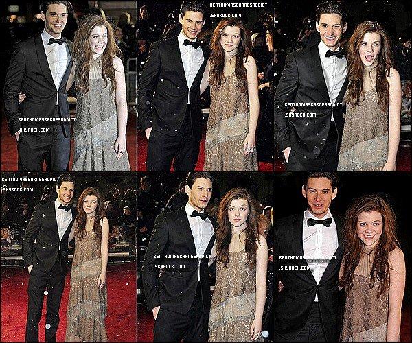 3o/11/2o1o _________FASHBACK____ Ben et Georgie étaient a Londres pour l'avant première de narnia chapitre 3 !