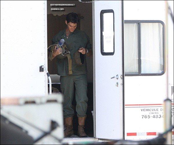 """FLASHBACK du 28 / o6 / 2o11 - Ben a été aperçus sur le tournage de son prochain film """"the worlds"""" a Montreal au Canada."""