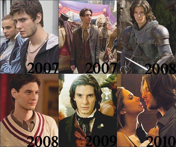 Voici l'évolution de Ben Barnes entre 2007 et 2011 dans ces films !