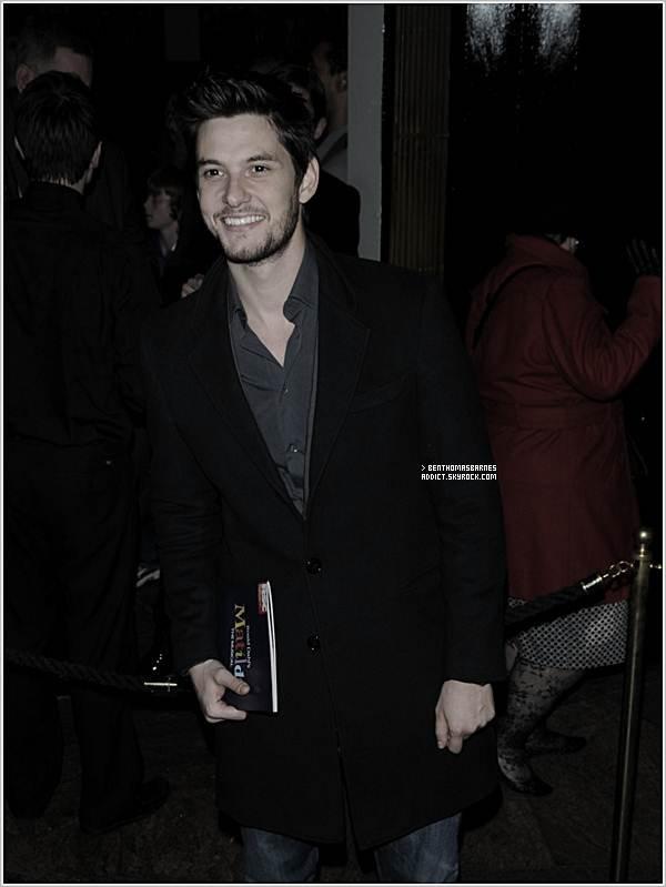 """25 Novembre 2o11 : Ben a participé à la nuit de presse de """"Matilda: The Musical"""" !"""