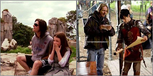 . • GALLERY - Voici différentes photos du tournage des chroniques de Narnia datant de 2007 ! .