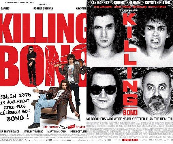 7 Septembre 2011 -  Le film Killing Bono est sortie en DVD au Etats-Unis ♥