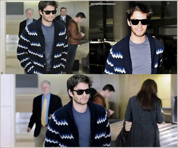 29 Janvier 2o12 : Ben es arrivé a l'aéroport LAX à Los Angeles hier dans la soirée.