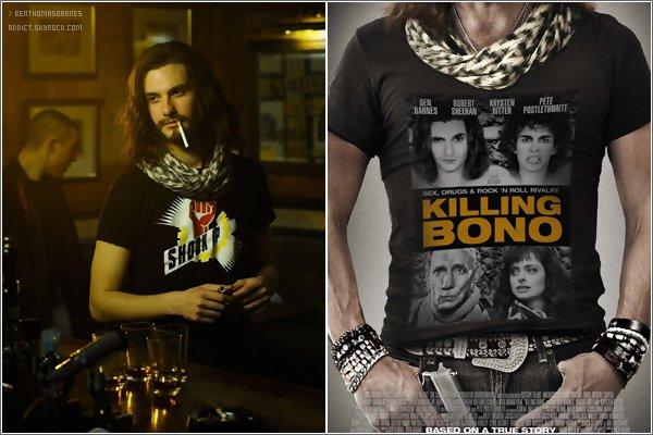 1o Octobre 2o11 : - Deux nouvelles photos du film « Killing Bono » sont apparu pour la sortie en DVD au États-Unis !
