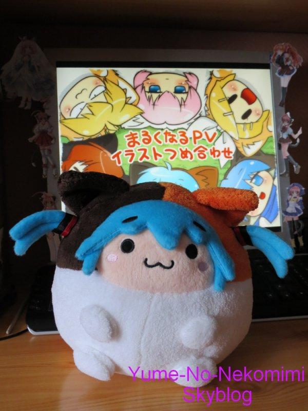 Peluche Hatsune Miku Marukunaru Ver.