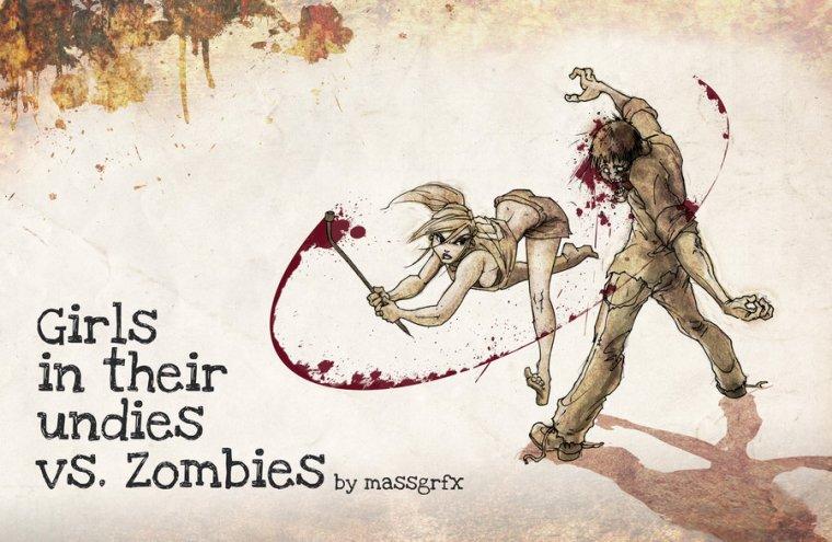 Babes Versus Zombies ...