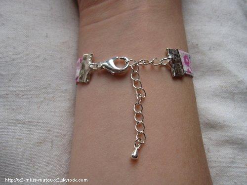 Bracelet liberty avec nuage kawaii