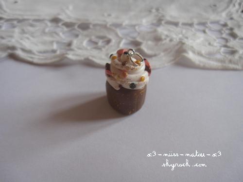 Pendentif Cupcake