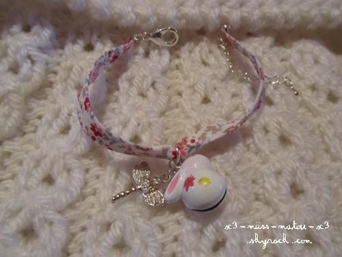 Bracelet liberty lapin kawaii