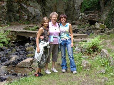 Avec Mamie et Lulu