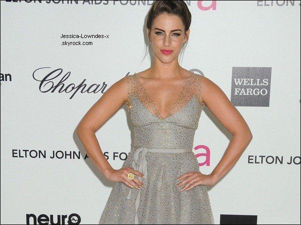 . 25/02/2012 Jess était à Vanity Fair D.J Night avec L'Oréal & Fiat. . 26/02/2012 Jessica à la 20ème éditon des Elton John AIDS .