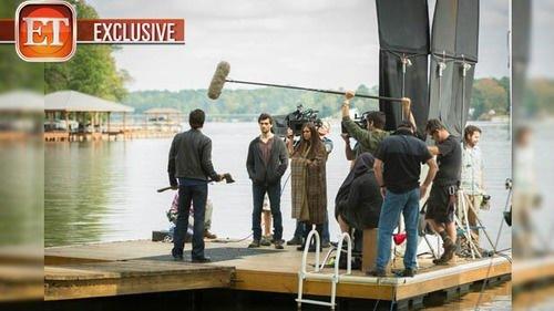 Sur le set/On the set (4x09)