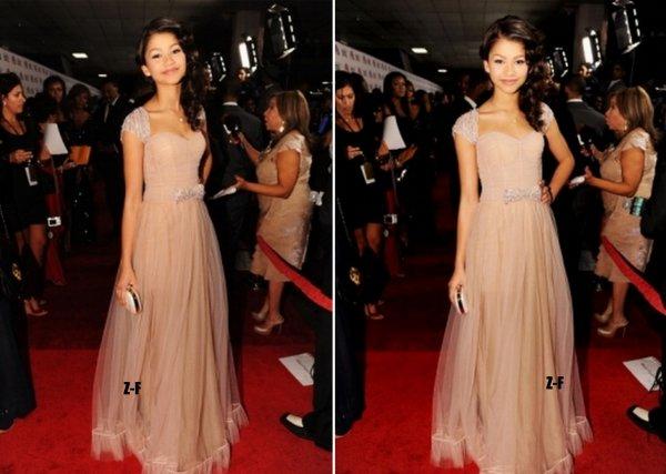 18.02.12 : Zendaya a assisté aux 43rd NAACP Image Awards dont elle a été en nominé !