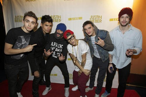 The Wanted et Justin!