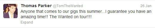Le tournée? pour cet été?