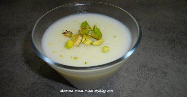 Flan Libanais - M'Halbi