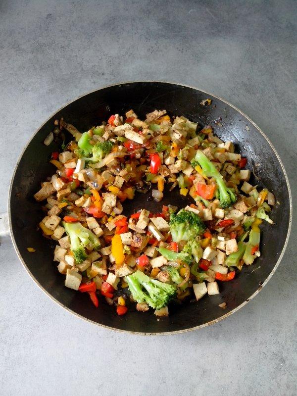 Tofu aux légumes