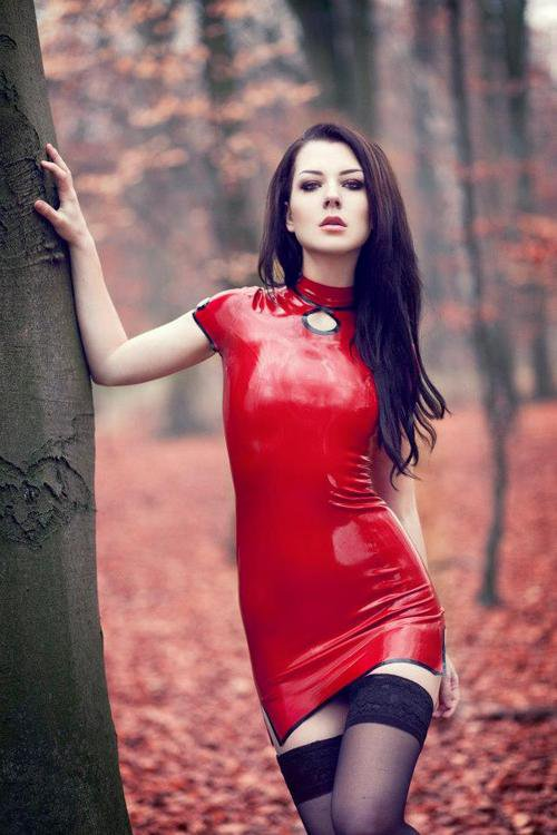magnifique en rouge