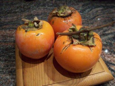 fruits de saison: les kakis